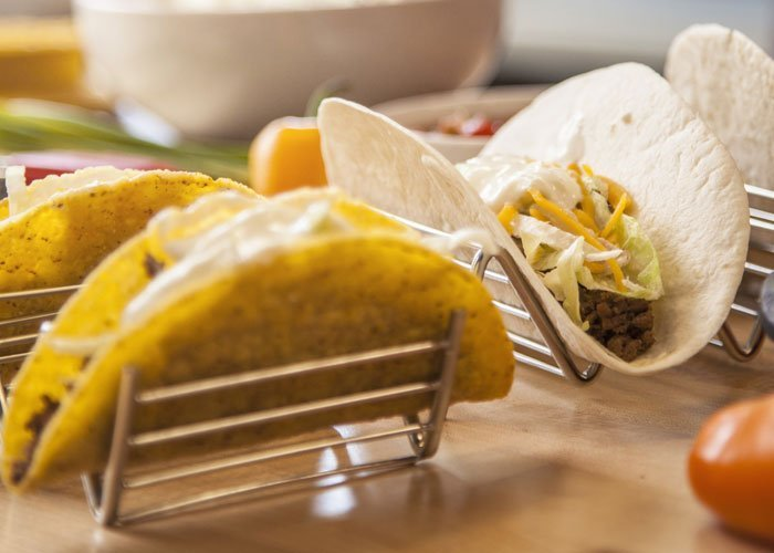 Meatless Monday recipe Crispy Potato Tacos