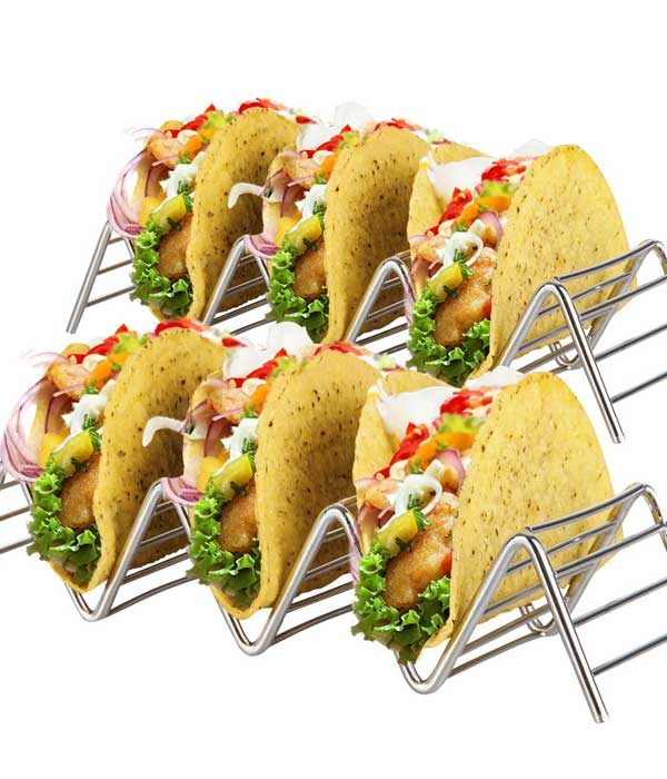 2-pack Wire Tacos Holder Stand