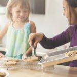 baking chewy oat cookies