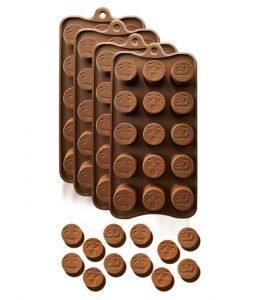 funny emojis silicone chocolate molds