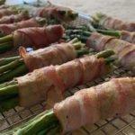 Keto-friendly Dinner Bacon and Asparagus