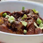 exotic dish braised oxtail