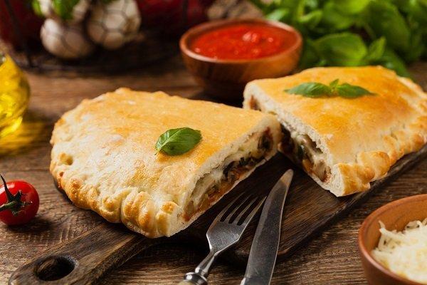 healthy vegetable calzones
