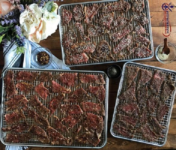 spicy beef jerky for appetizers