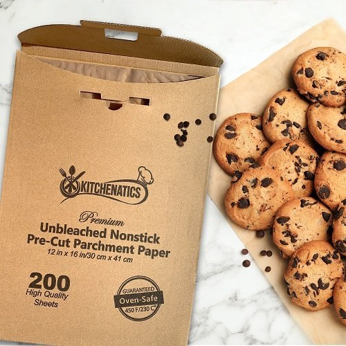Parchment paper liner sheet for cookies and desserts