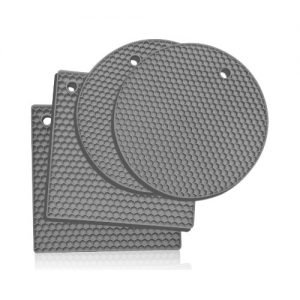 Light Gray Silicone Trivets