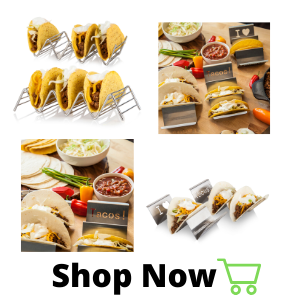 stainless stell taco holder stands