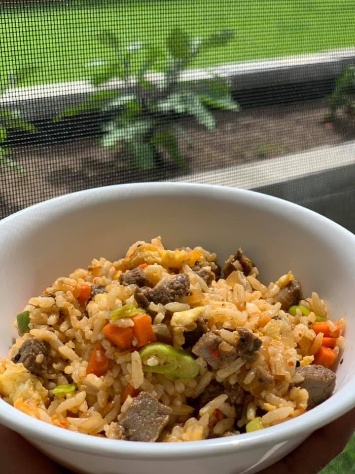 easy meal fried rice recipe
