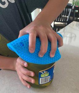 multi-purpose silicone trivets jar opener