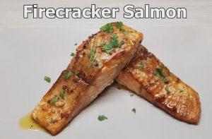 heart-healthy firecracker salmon