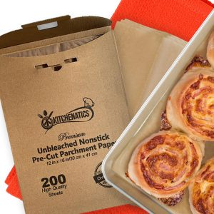Kitchenatics parchment paper liner sheets