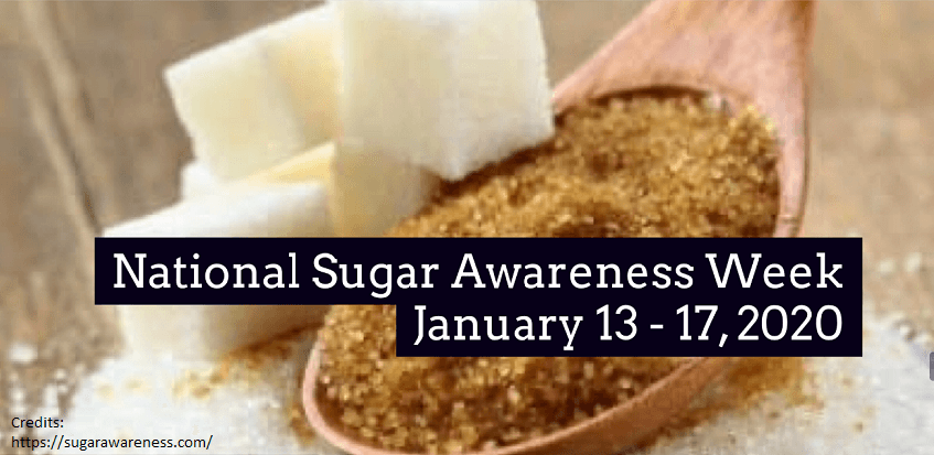 Sugar Awareness Week January 2020