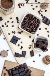 Romantic Chocolate Valentine_Bars and beans