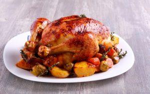 mediterranean roasted chicken