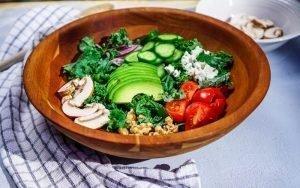 Kale Quinoa Salad for Intermittent Fasting