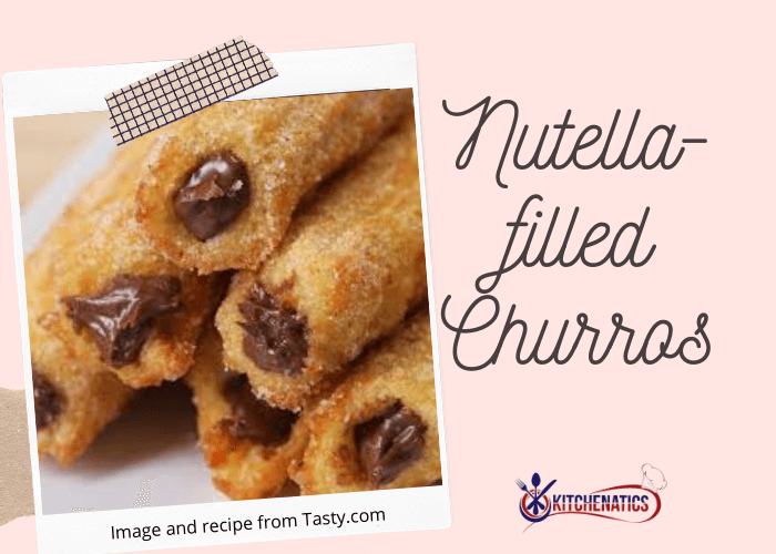 Nutella-filled Churros