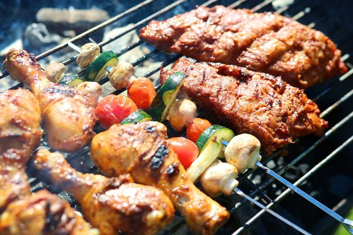 Summer BBQ Grill