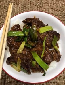 Asian dish Mongolian Beef Recipe