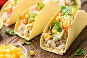 soft chicken tacos for taco Tuesdays