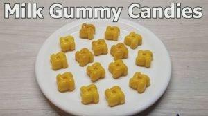 milk gummy candy