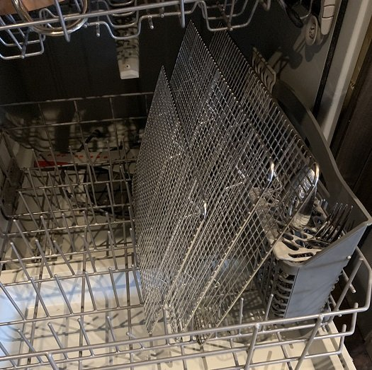 cooling and roasting racks dishwasher