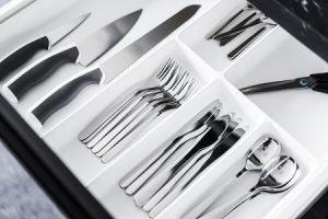 kitchenware cutlery drawer