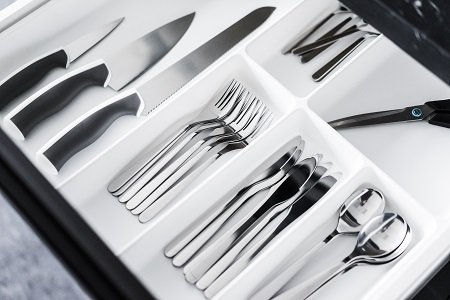 kitchenware cutlery drawer