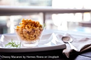 Cheesy Macaroni pasta dish