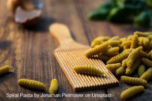 pasta dish spiral pasta