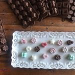 homemade chocolates with silicone chocolate molds
