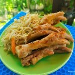Korean style exotic chicken feet recipe