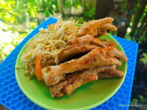 Korean style exotic chicken feet recipe