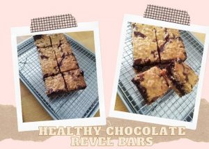 healthy chocolate revel bars cover
