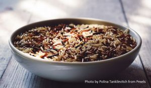 brown rice for a low cholesterol diet plan