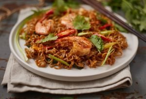15-Minute Shrimp Stir Fry Noodles