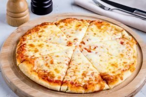 Homemade Four Cheese Pizza