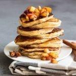 Breakfast Recipes Cinnamon Apple Pancakes