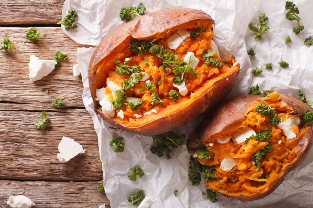 Delicious Baked Sweet Potato dish