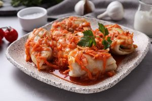 Vegetable Dish Cabbage Rolls Recipe