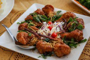Thai-style Chicken Meatballs