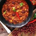 three bean and beef chili recipe