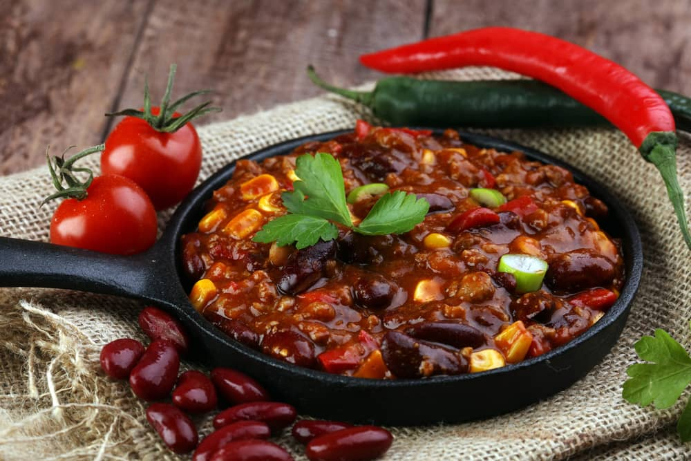 three bean and beef chili recipe