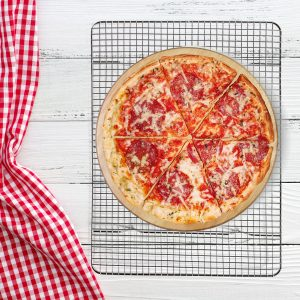 wire rack pizza