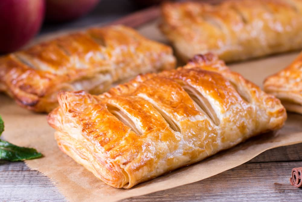 Apple Turnover Recipe with Puff Pastry