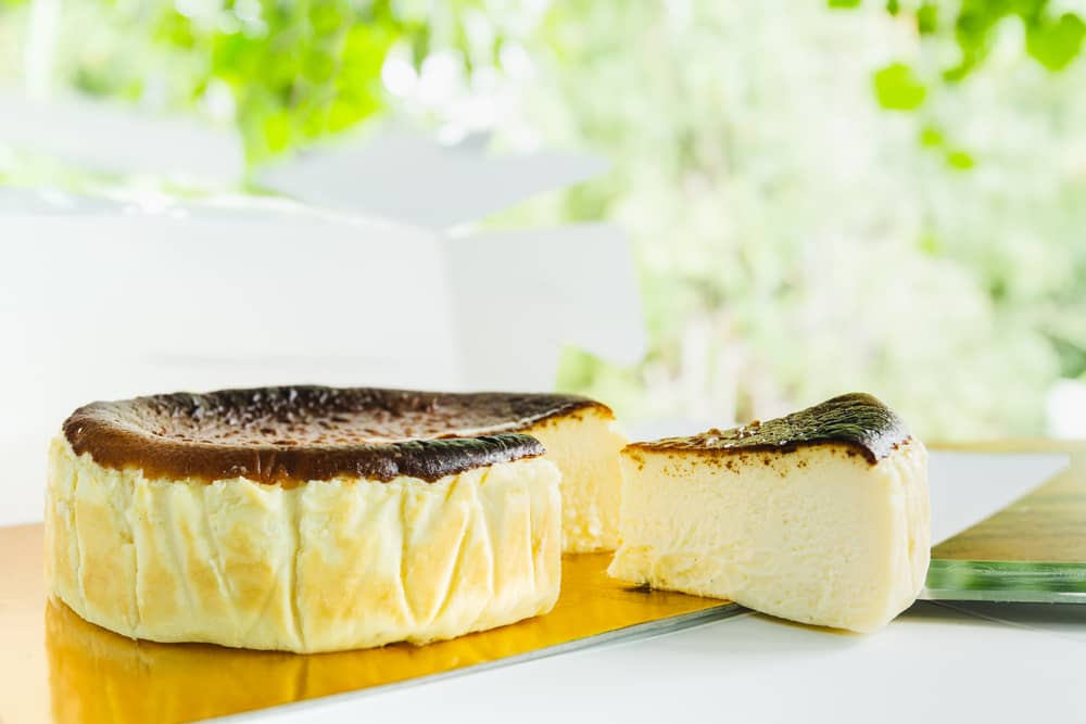Burnt Basque Cheesecake Recipe