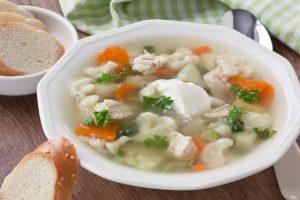 Cauliflower Chicken Soup