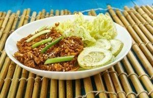 Korean ground beef bowl