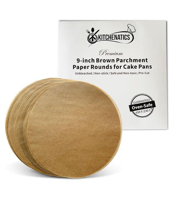 Round parchment paper