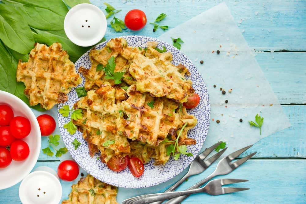 Recipes for Thanksgiving leftovers Waffles