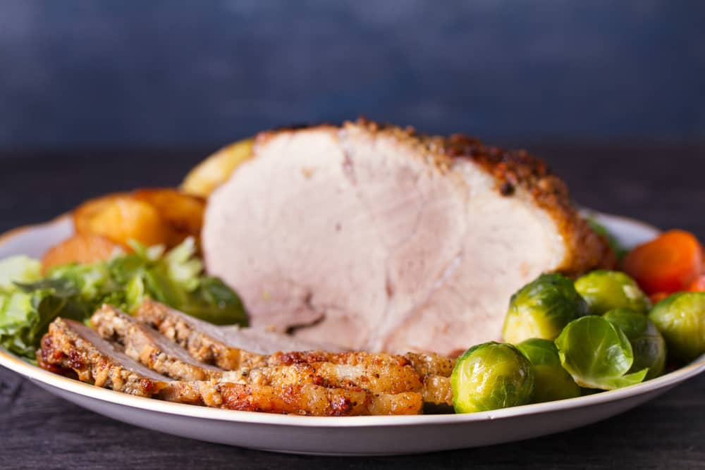 Christmas dinner ideas ham and brussels sprouts